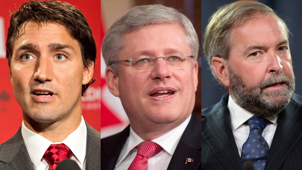 Trudeau, Mulcair, Harper — Why Should We Hire You?