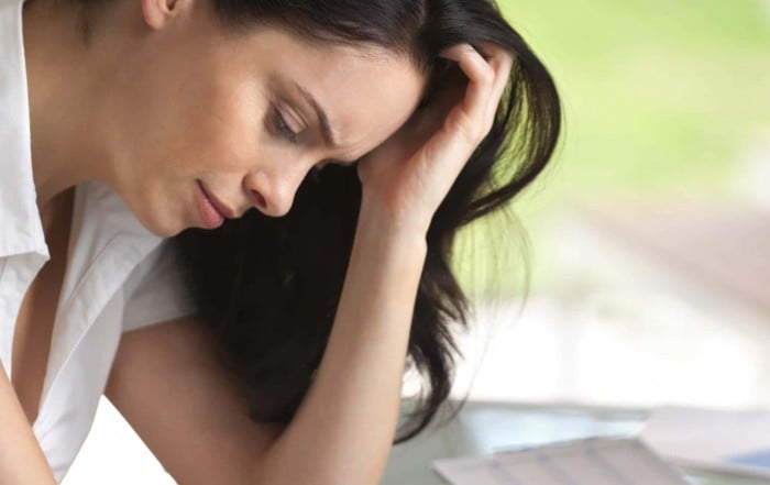 Stressed Woman in Need of Life Coaching